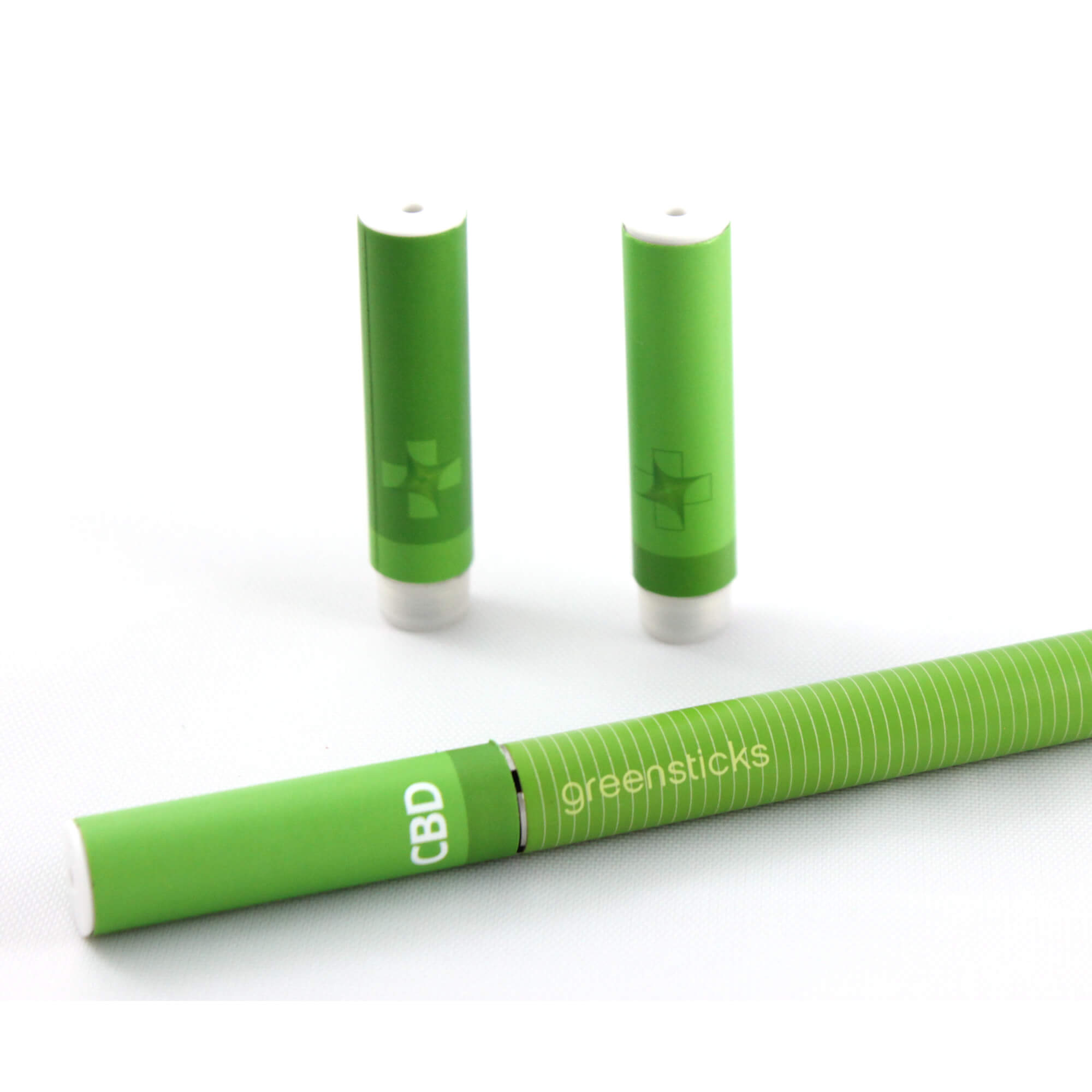 Whole Flower Fluid CBD Vaporizer Cartridge and Pen